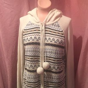 White Stag Hoodie Sweater size XL